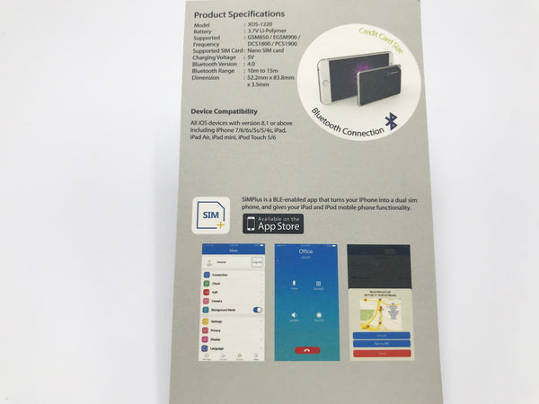 Lexuma 辣數碼 XSIM iPhone Dual SIM Adapter double sim travel must have imartcity specification
