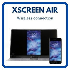 Lexuma-XScreen-air-portable-monitor-wireless-connection-button