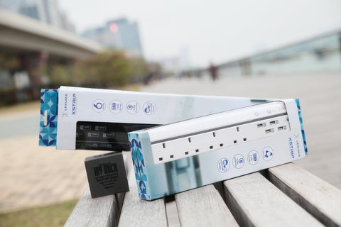 5 Things You Need To Know About UK XSTRIP - Lexuma 辣數碼 usb power strip 4 gang 6 gang surge protected