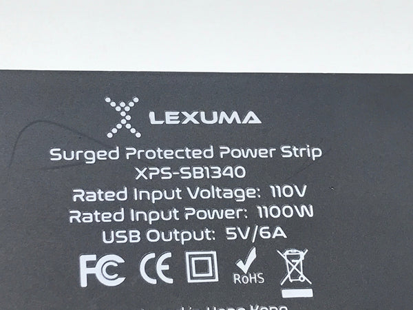 GadgetiCloud Lexuma 辣數碼 XStrip USB Power Strip US-Style Unbox