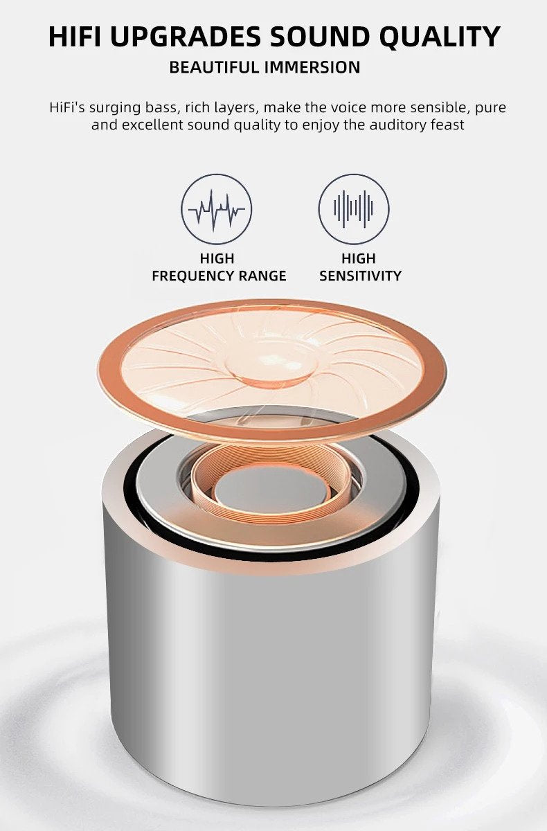 Lexuma XBud-Z True wireless earbuds 16Ω HiFi speaker makes the voice more sensible and pure