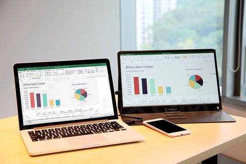 Lexuma-Xscreen-portable-Monitor-Excel-for-work