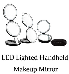 LED Lighted Makeup Mirrors Comparison - GadgetiCloud LED燈放大化妝鏡