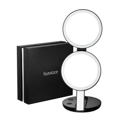 7x magnification makeup mirror - GadgetiCloud blog handheld led lighted beauty mirror