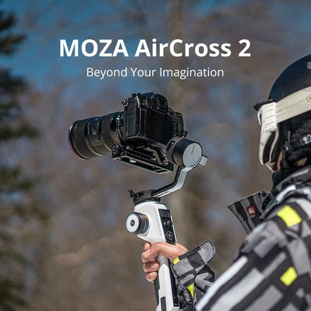 MOZA AirCross 2 Professional Camera Stabilizer beyond your imagination white color