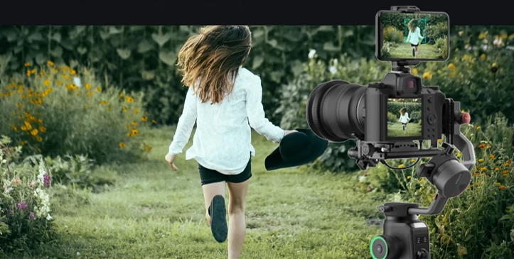 MOZA AirCross 2 Professional Camera Stabilizer beyond your imagination object tracking