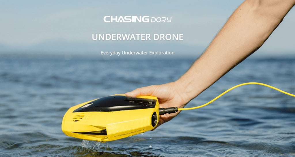 chasing gadgeticloud dory underwater submarine drone full hd camera