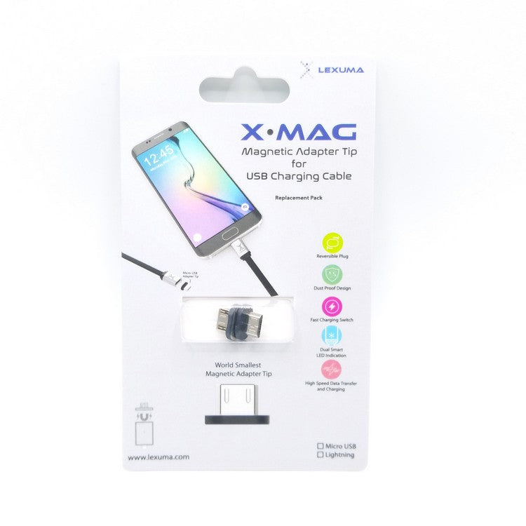 Lexuma 辣數碼 XMAG Magnetic Micro USB Charging Cable for HTC Samsung Sony LG Android