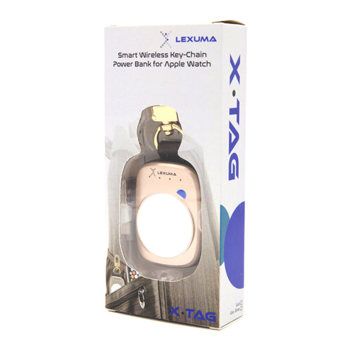 Lexuma XTag Apple Watch Power Bank Portable Charger Packaging