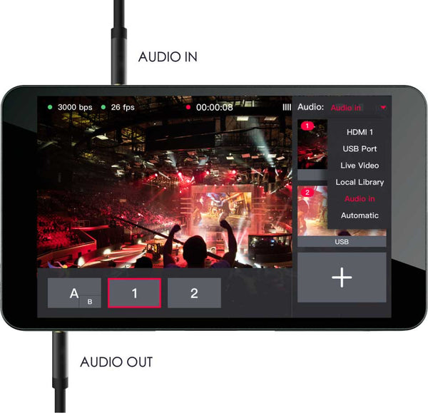 YYoloLiv YoloBox Yololivbox Portable Live Stream Studio Broadcast Box with battery Wifi 4G Encoder 1080P HD video recording four in one 4-in-1 streaming gear on Facebook Youtube Twitch Capture card Switcher Studio DSLR Controller without OBS capture video - iMartCity