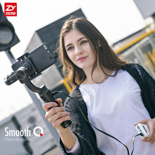 ZHIYUN Smooth Q - 3 Axis Handheld Gimbal Stabilizer Camera Mount For Cell Phone Smartphone iphone mobile stabilizer dobot rigiet DJI osmo LanParte EVO PRO SHIFT movi freefly stabilisateur Video Stabilizing (for iphone 8, X, Samsung, Huawei, xiaomi) review - iMartCity