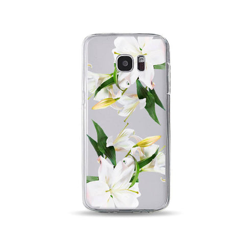 Personalized Case for Android - White Lily