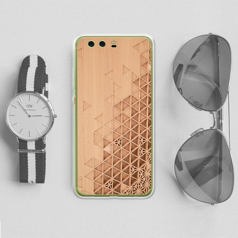 Personalized Case for Android - Carved Wood