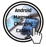 android magnetic charging cable