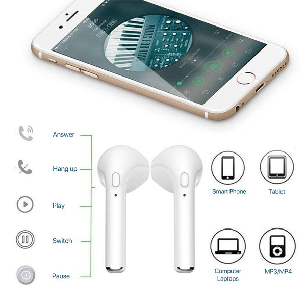 3386c1348a6 Lexuma XBUD True Wireless Stereo Bluetooth Earbuds i9s truewirelessmusic  tws earphones with Built-in Mic