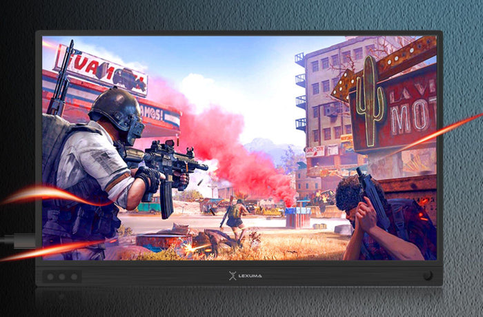 "Lexuma Portable Monitor 15.6"" Touch 1920x1080 XScreen IPS Ultra Slim Type-C HDMI 1080P Full HD USB Powered-4 Game Devices and game console Suggestions and their Setup Process ( PS4, Switch, Steam, and XScreen)-monitor-related gaming deivce"