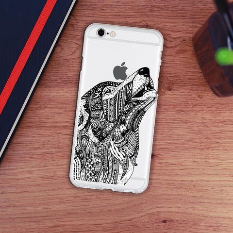 Personalized Case for iPhone - Shouting Dog