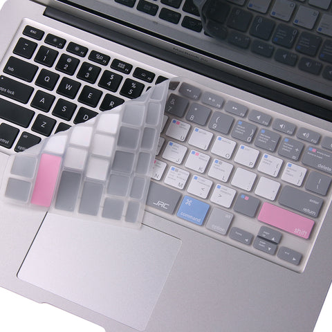 Keyboard Cover For Mac Book Air 13 & Pro 13, 15, 17 inch (No Touch Bar)