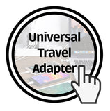 Universal Travel Adapter with 4 USB ports 4 power types
