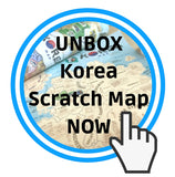 korean map unboxing
