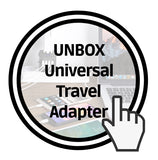 unbox universal travel adapter iMartCity