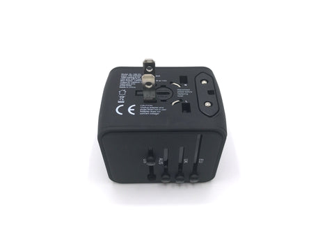 Travel with All in One Universal Travel Adapter - Plus 4 USB Ports us plug for travel