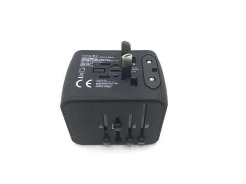 Travel with All in One Universal Travel Adapter - Plus 4 USB Ports au plug for travels