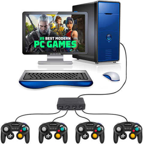 why we need GameCube Controller and GameCube Adapter - GadgetiCloud pc set up