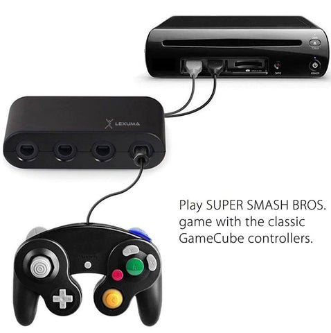GameCube Controller Adapter for Wii U, Nintendo Switch and PC USB by Lexuma - iMartCity nintendo switch gamecube adapter switch gamecube adapter gamecube controller adapter switch gamecube adapter switch connected and play