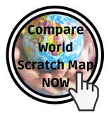 World scratch map comparison