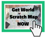 World scratch map - Gadgeticloud