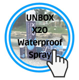 X2O waterproof spray unboxing tour