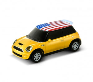 AutoDrive Mini Cooper S - Flag series-USA 32GB USB Flash Drive - GadgetiCloud
