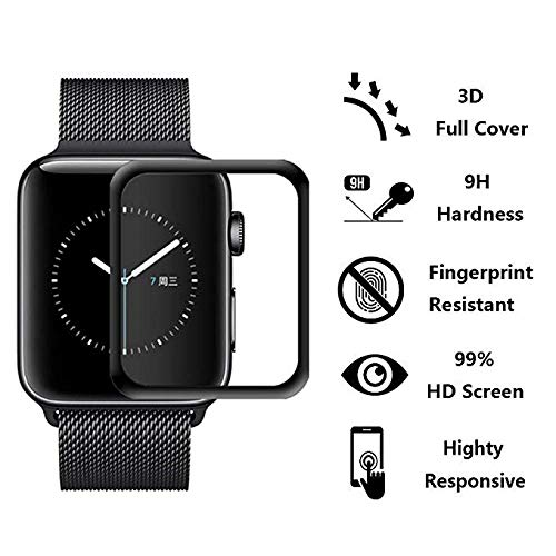 Apple Watch Series 4 and Series 5 Tempered Glass Screen Protector - GadgetiCloud
