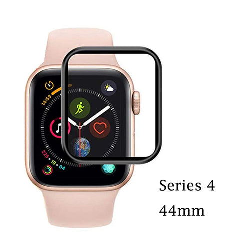 GadgetiCloud XPROTEK Apple Watch Series 4 Tempered Glass Screen Protector iWatch Anti Scratch 9h tempered Ultra thin with Black Edges applewatch protective Films 保護殼 保護貼 蘋果手錶保護貼