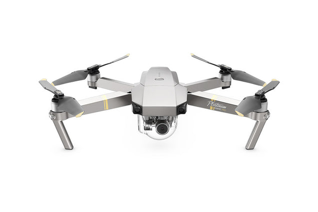 DJI MAVIC PRO PLATINUM Fly More Combo - A sleek design and compact body, best portable drone (combo) - GadgetiCloud