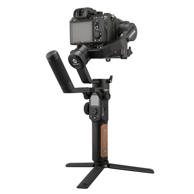 Feiyu AK2000S Gimbal Camera Stabilizer handheld three-exis for video mirrorless DSLR cameras  back