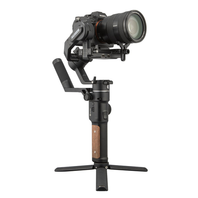 Feiyu AK2000S Gimbal Camera Stabilizer handheld three-exis for video mirrorless DSLR cameras side view