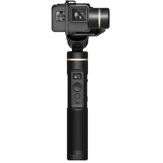 FeiyuTech G6 Handheld Gimbal for GoPro 8/7/6/5/ RX0(Required RX0 Mount)Yi 4K/SJCAM/AEE/ Ricca Action Camera front
