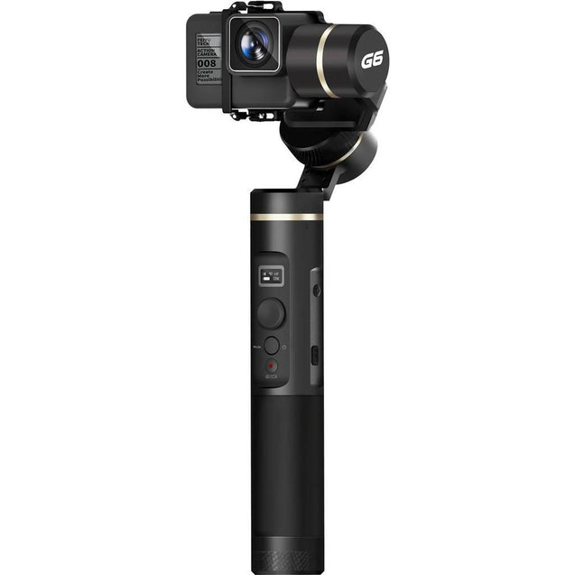FeiyuTech G6 Handheld Gimbal for GoPro 8/7/6/5/ RX0(Required RX0 Mount)Yi 4K/SJCAM/AEE/ Ricca Action Camera design overview