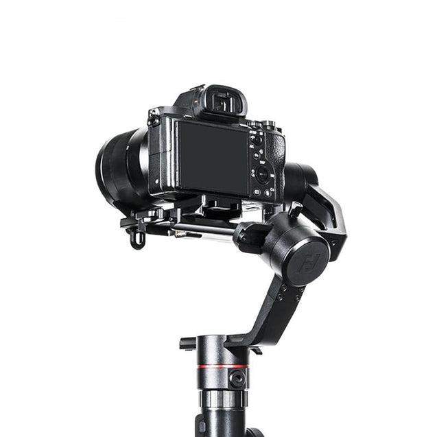 Feiyu AK2000 3-Axis Gimbal Stabilizer DSLRs Mirrorless Cameras, Single Handgrip Slanted - GadgetiCloud