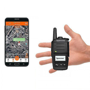 Walkie Talkier for Elderly and Patient - Call for Help + GPS Positioning - GadgetiCloud