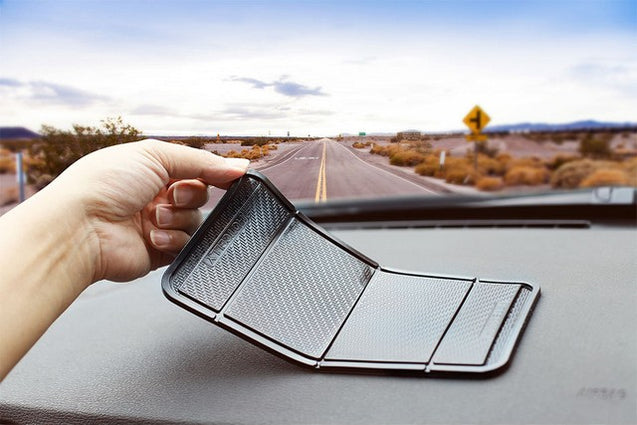 HOTCELLY Magic Anti-slip Car Dashboard Mat, Car Pad and Mat for Mobile Phones, Keys and Sunglasses - GadgetiCloud