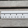 Lexuma XStrip – 4 Gang UK Surge Protector Power Strip with 4 USB Ports - GadgetiCloud