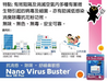 日本製造 Nano Virus Buster 防流感抗菌小掛包 & 盒子 - 抗菌、抗流感、防鼻敏感 - GadgetiCloud