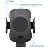 Lexuma Automatic Infrared Sensor Qi Wireless Car Charger Mount - GadgetiCloud