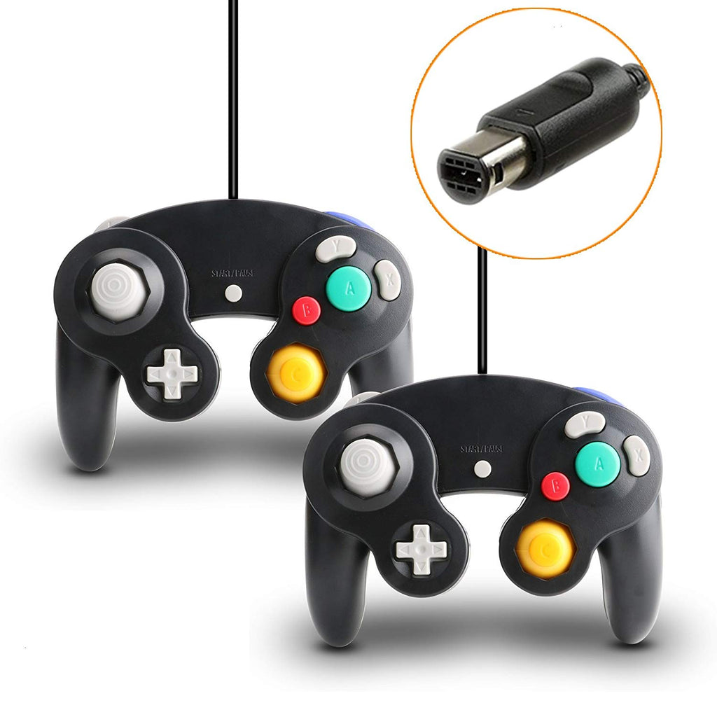GameCube Controller for Nintendo Wii and GameCube [2 Packs]