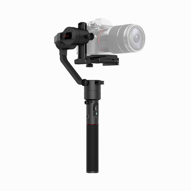 Moza AirCross 3-Axis Gimbal for Mirrorless Cameras Single Handgrip - GadgetiCloud