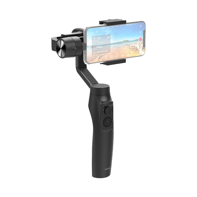 Moza Mini-MI 3-Axis Smartphone Gimbal Stabilizer with Wireless Phone Charging - GadgetiCloud