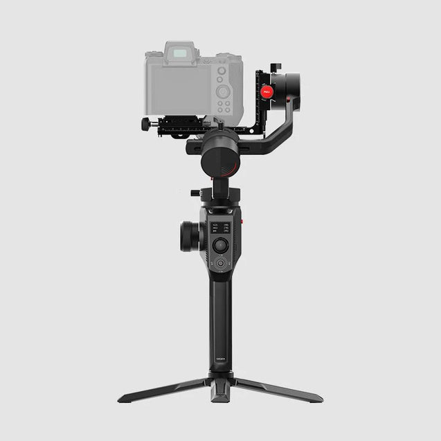MOZA AirCross 2 Professional Camera Stabilizer beyond your imagination white color with professional kit back